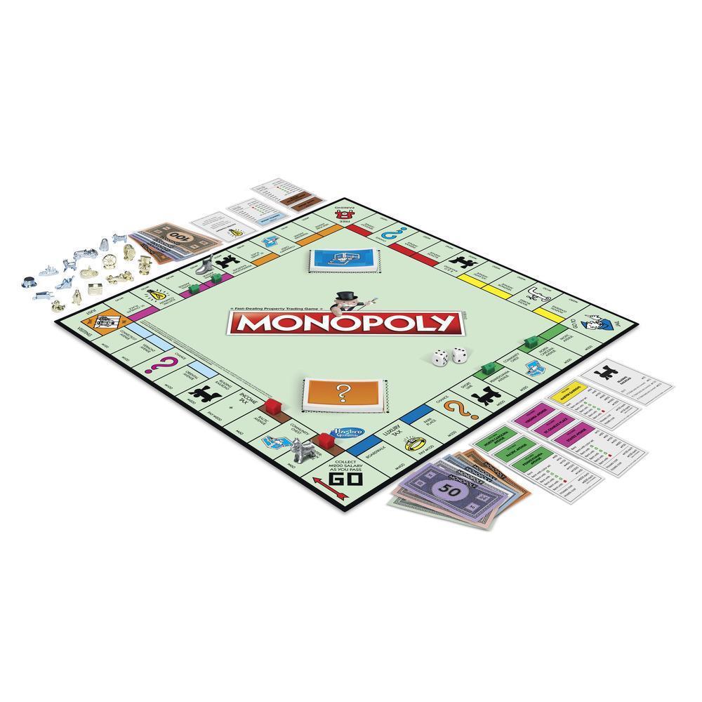 Jeu monopoly pions en folie