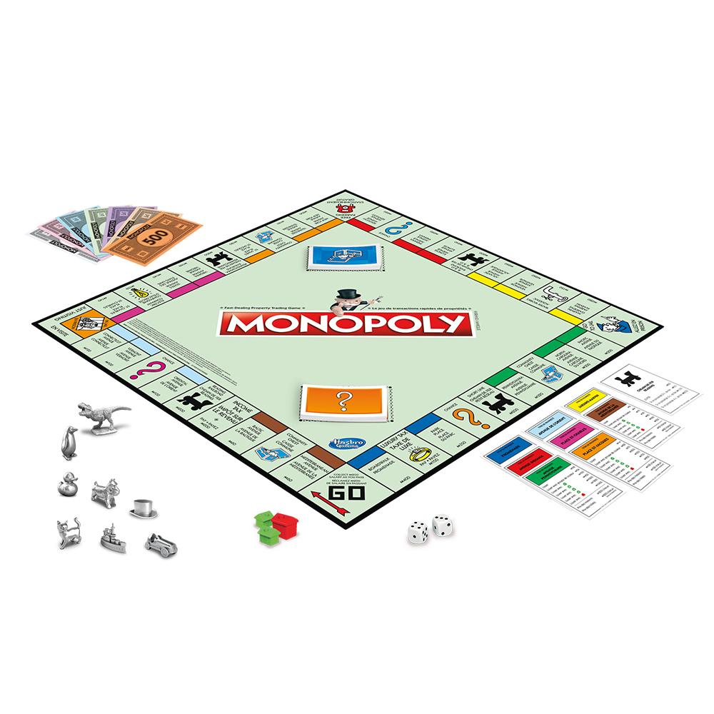 Jeu Monopoly - Nouvelle Édition Bilingue