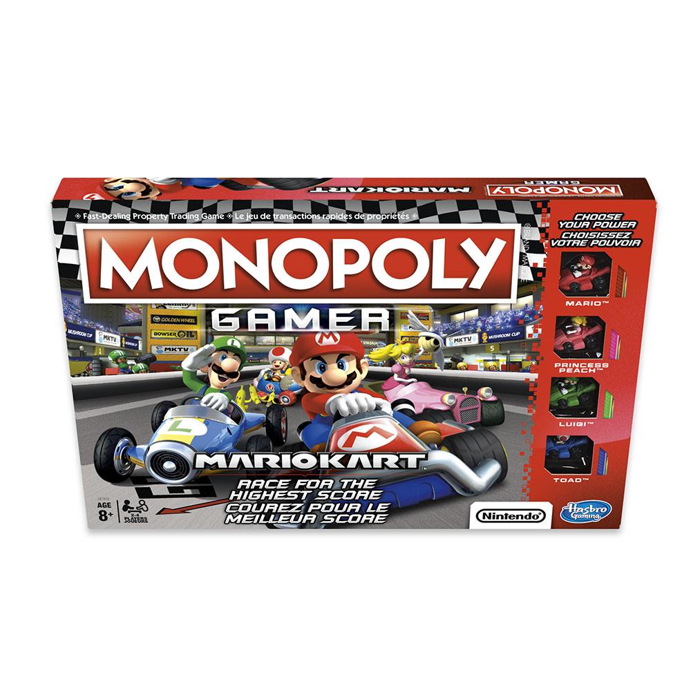 Jeu Monopoly - Gamer - Mario Kart