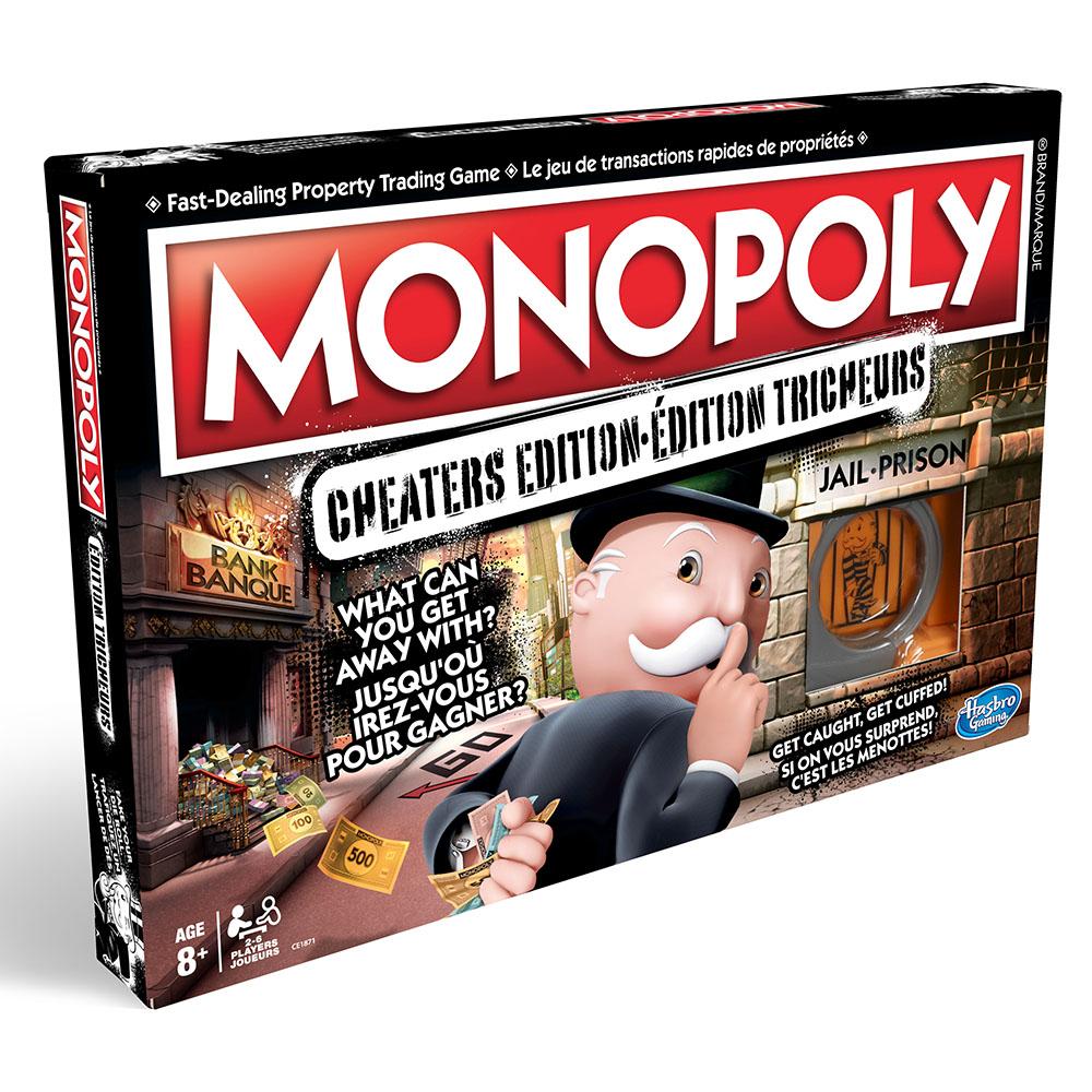 Jeu Monopoly - Édition Tricheurs