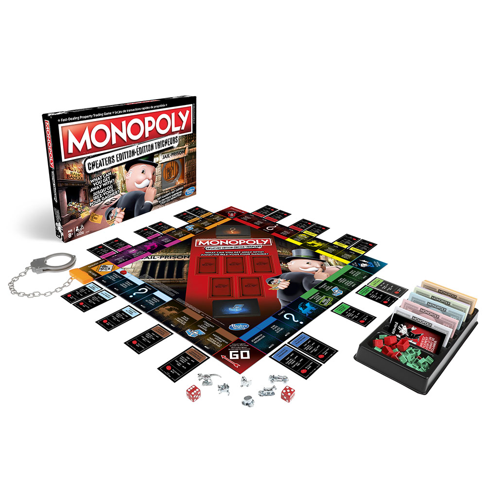Monopoly édition Tricheurs