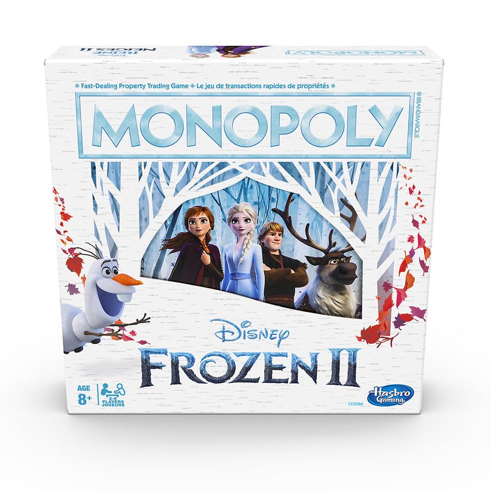 Jeu Monopoly - La Reine des neiges 2 Version bilingue