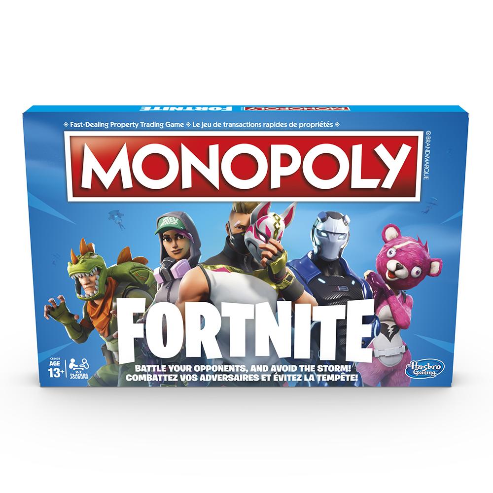 Jeu Monopoly - Fortnite