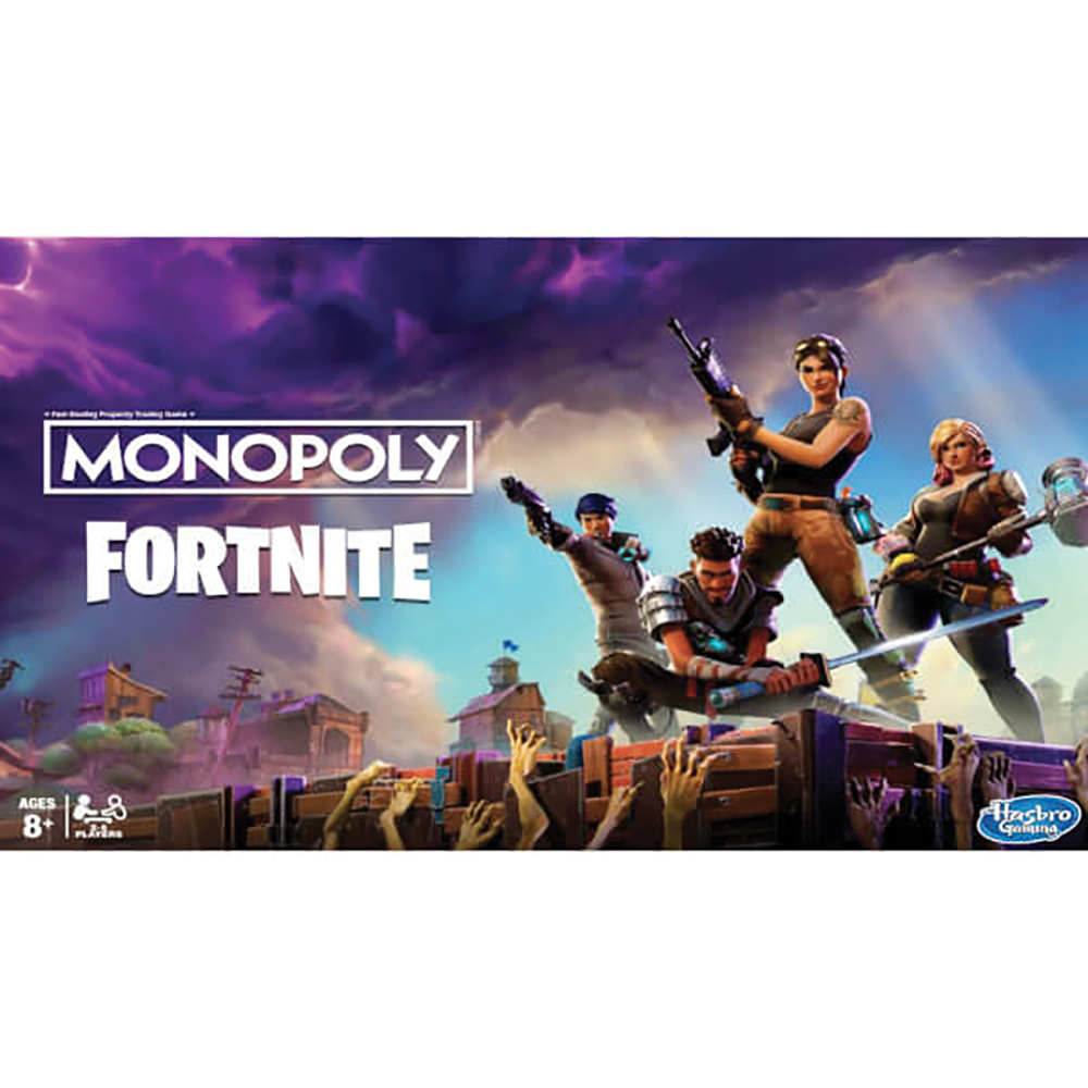 Jeu Monopoly - Fortnite