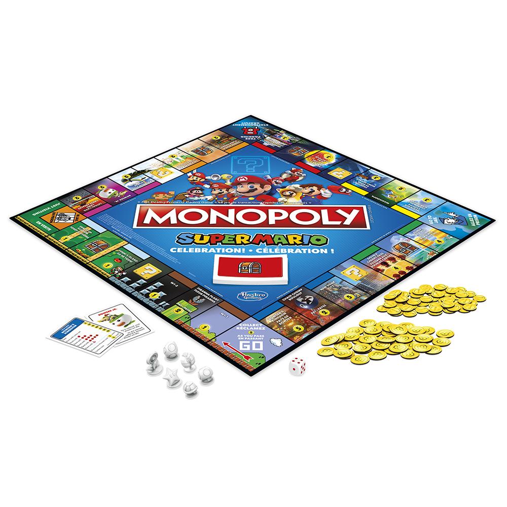 Jeu Monopoly Nintendo Mario Bros Version bilingue