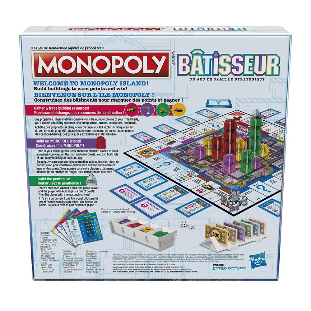 Jeu Monopoly - Builder