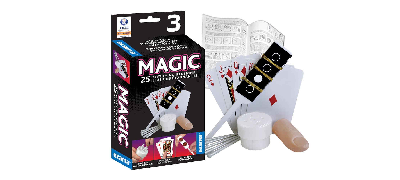 Ezama - Ensemble Magie 25 illusions étonnantes  3 Version bilingue