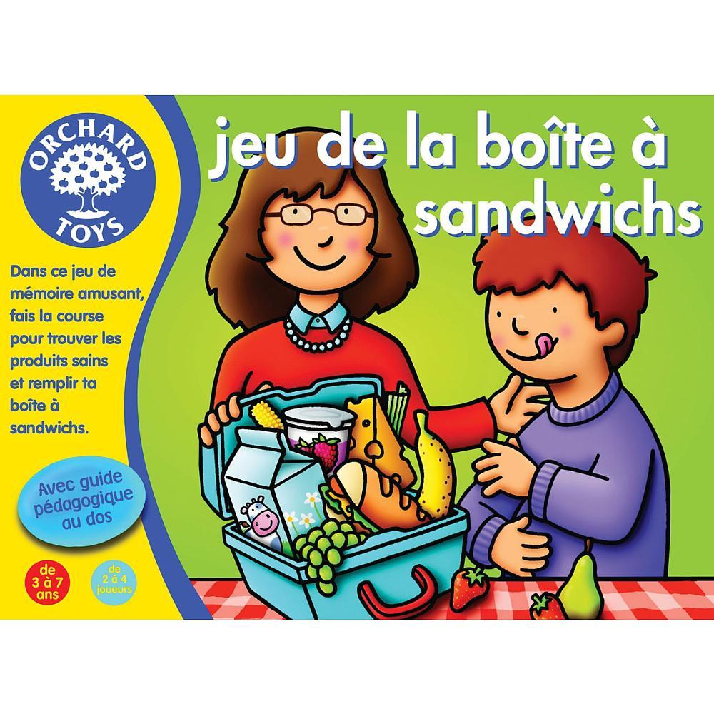 Jeu de la Boite à sandwichs
