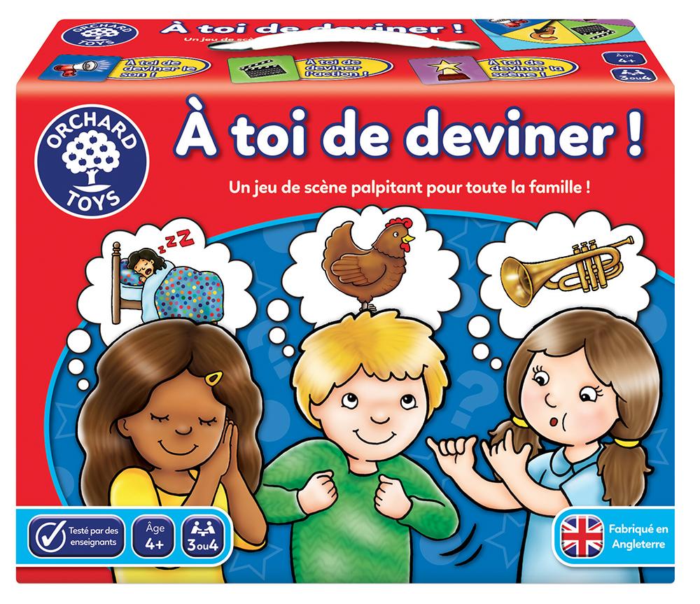 Jeu À toi de deviner Version française