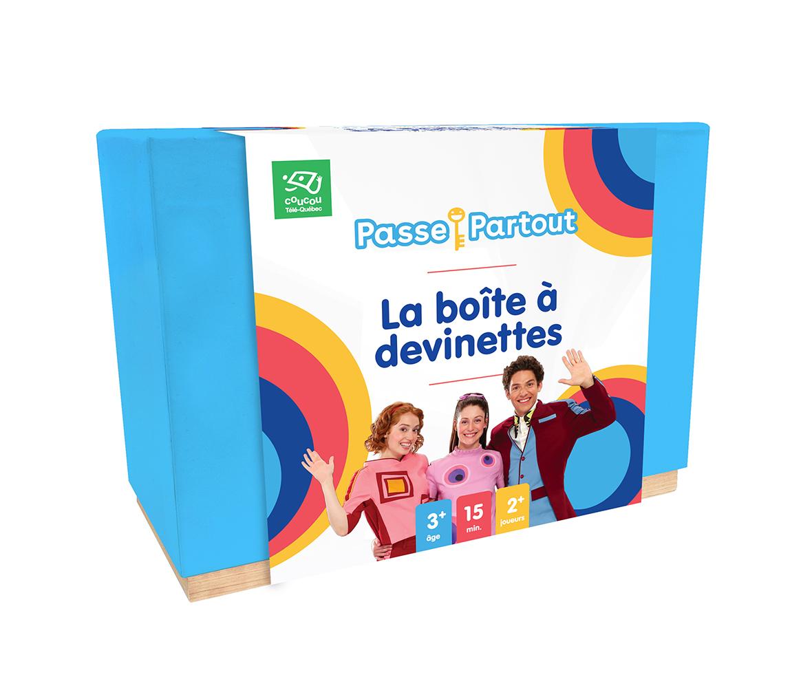 Jeu - Passe-Partout - La boîte à devinettes Version française