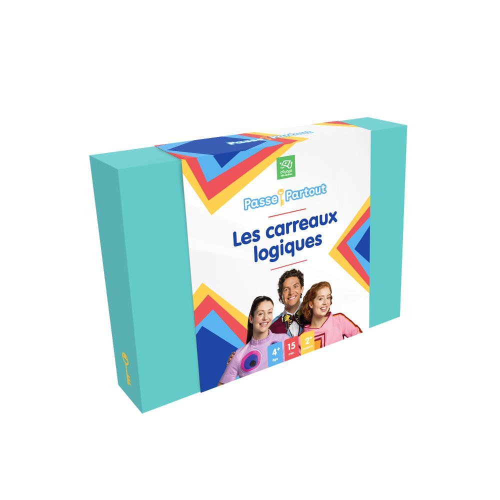 Jeu - Passe-Partout - Les carreaux logiques Version française