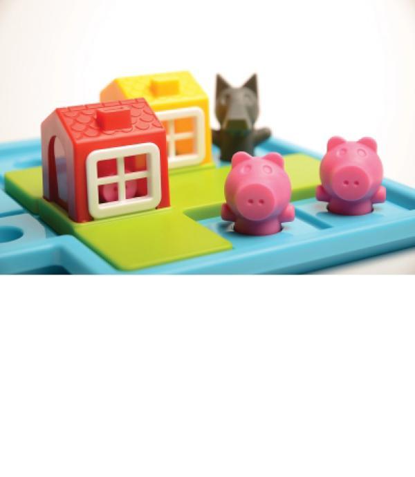 Smart games - Les trois petits cochons