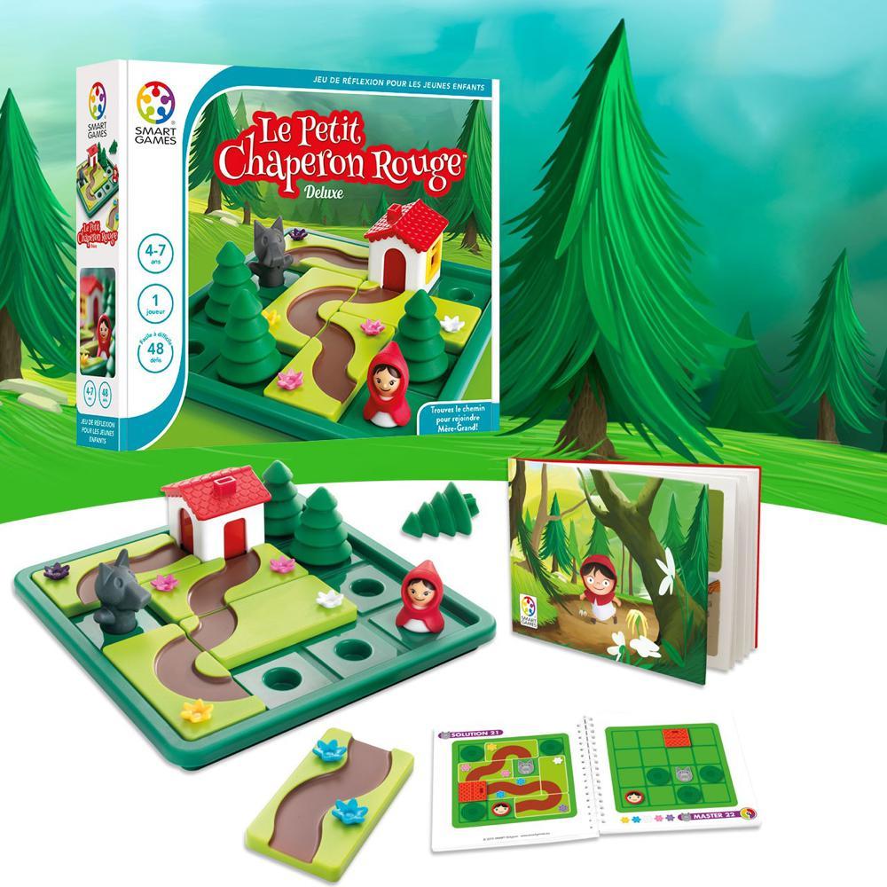Smart Games - Le Petit Chaperon Rouge de luxe Version française