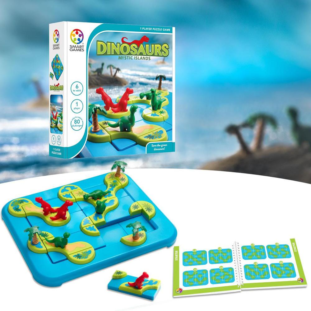 Smart Games - L'Archipel des Dinosaures Version française