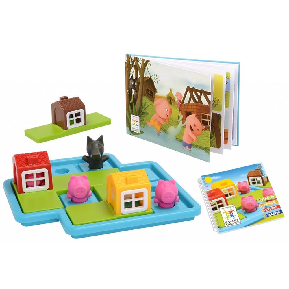 Smart Games - Les trois petits cochons Version française