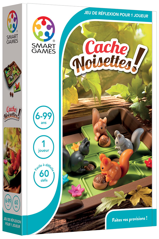 Smart Games - Cache-Noisettes!