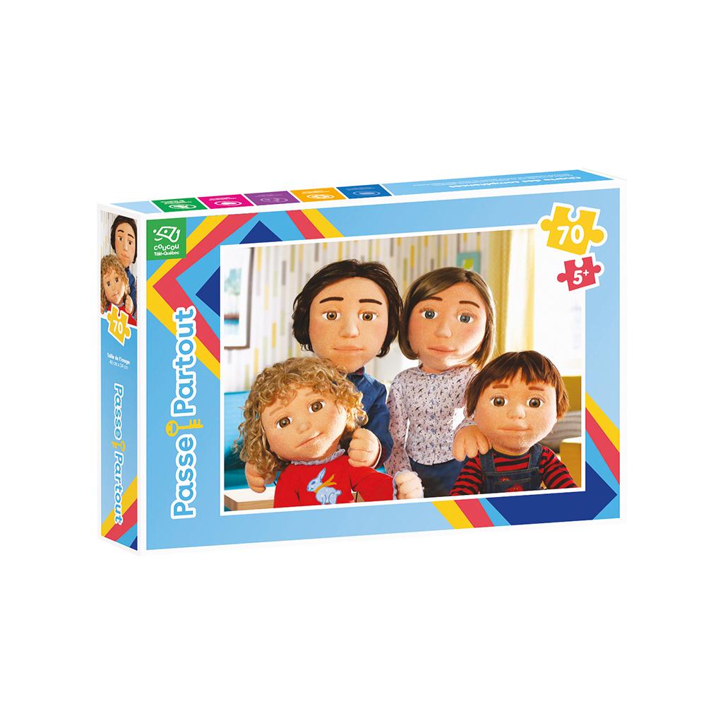 Casse-tête 70 pièces - Passe-Partout - La famille