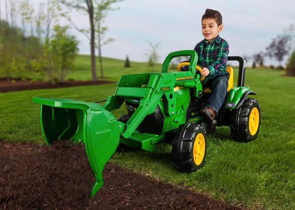 john deere tracteur chargeuse frontale - Tracteur John Deere Enfant