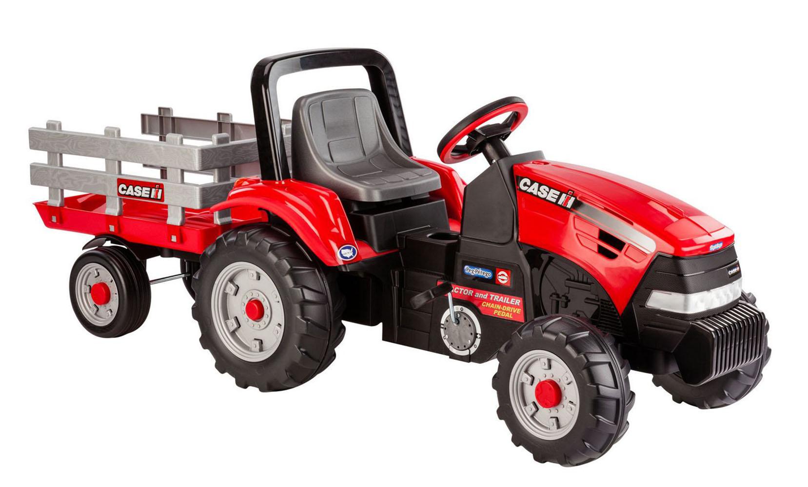tracteur magnum case ih et remorque club jouet achat de jeux et jouets prix club. Black Bedroom Furniture Sets. Home Design Ideas