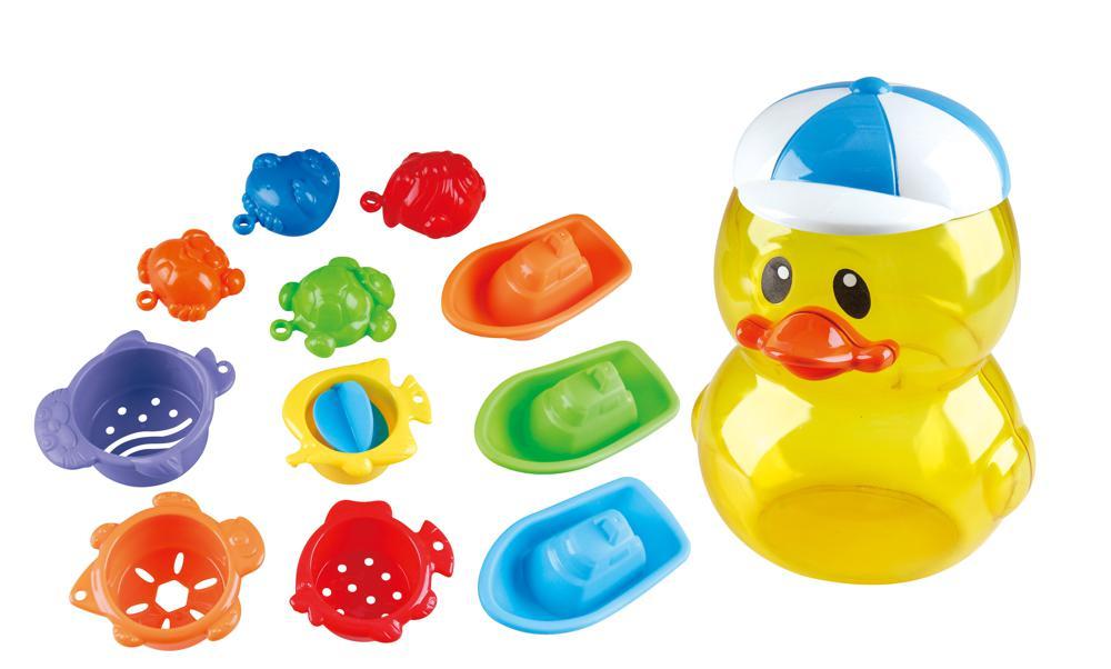 Activités de bain canard