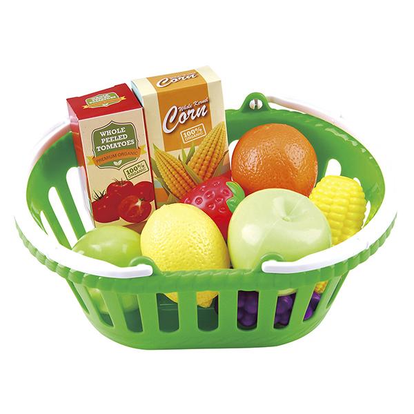 Panier de fruits et légumes 13 pièces