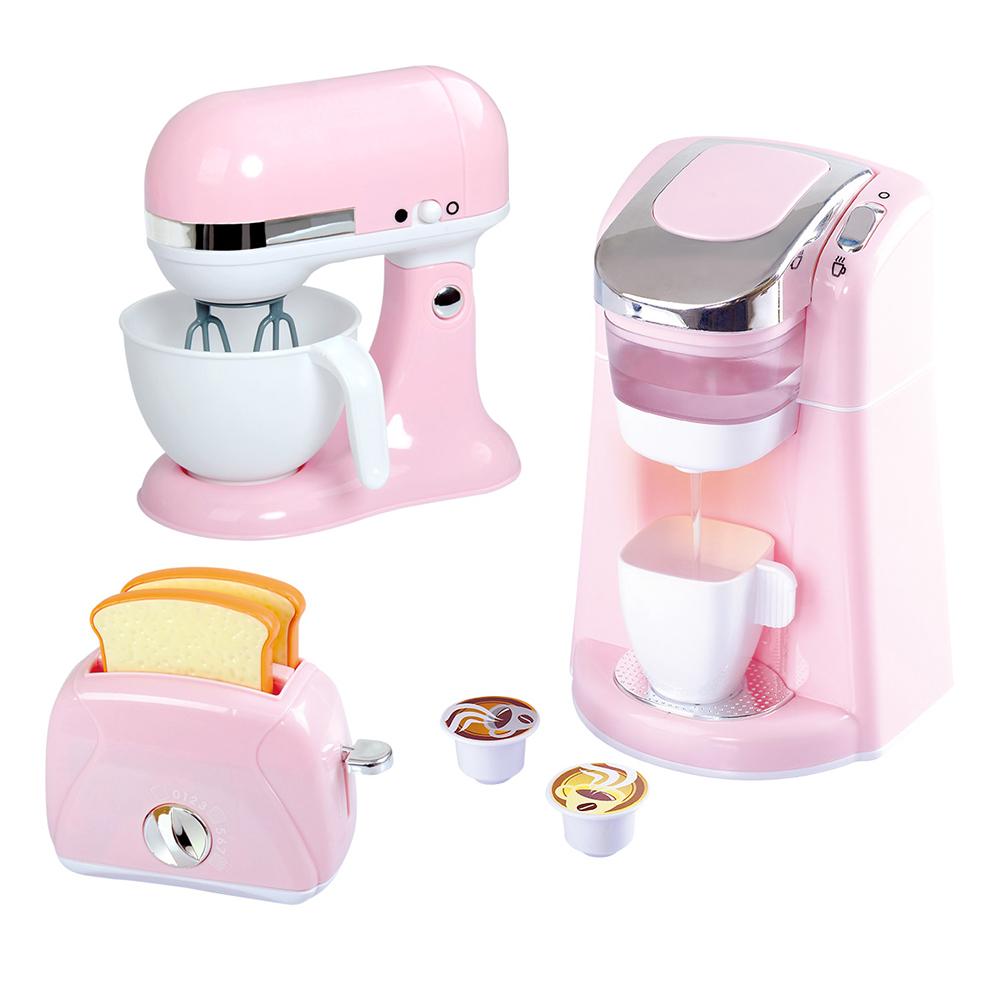 Trio d'appareils de cuisine haut de gamme Rose