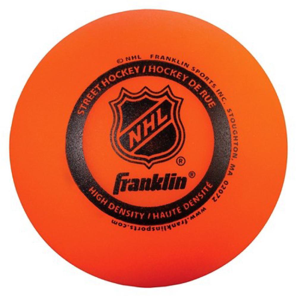 Balle haute densité de hockey de rue LNH