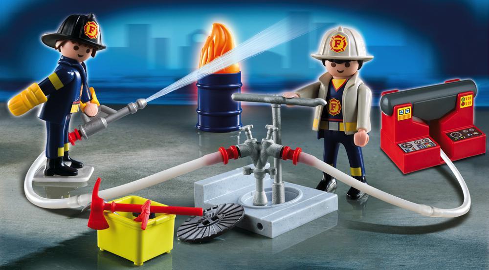 Mallette transportable de pompiers