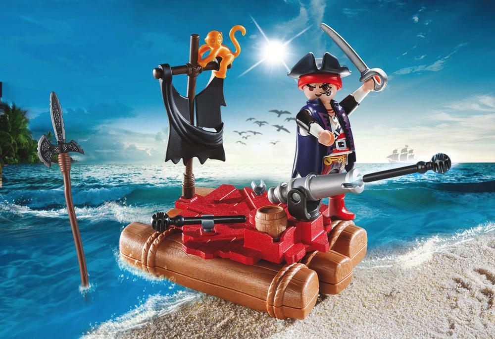 Mallette transportable de pirates