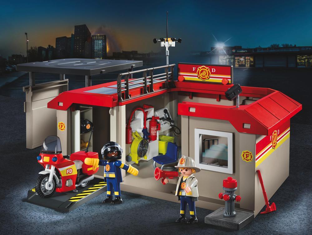 City Action - Caserne de pompiers transportable