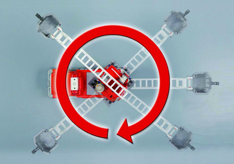 City Action - Camion de pompier avec échelle