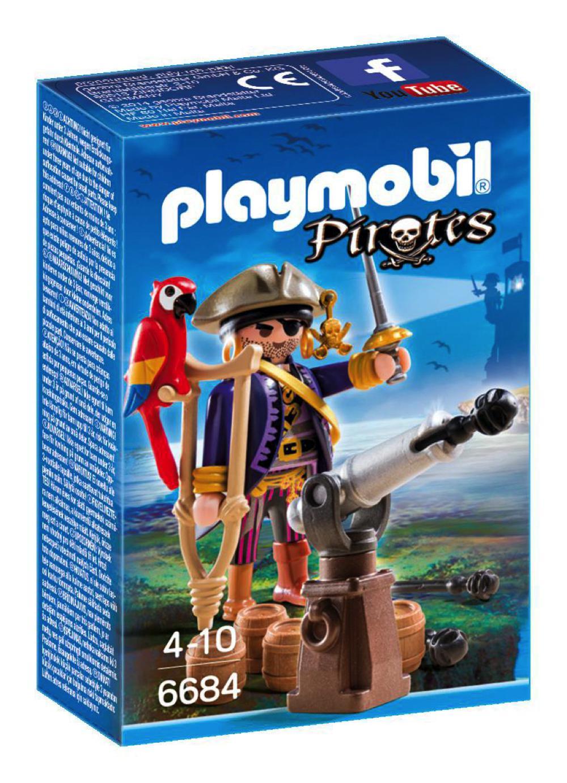 Pirates - Capitaine pirate avec canon