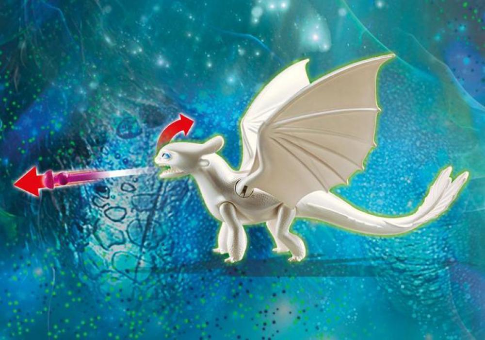 Dragons - Furie Éclair et bébé dragon