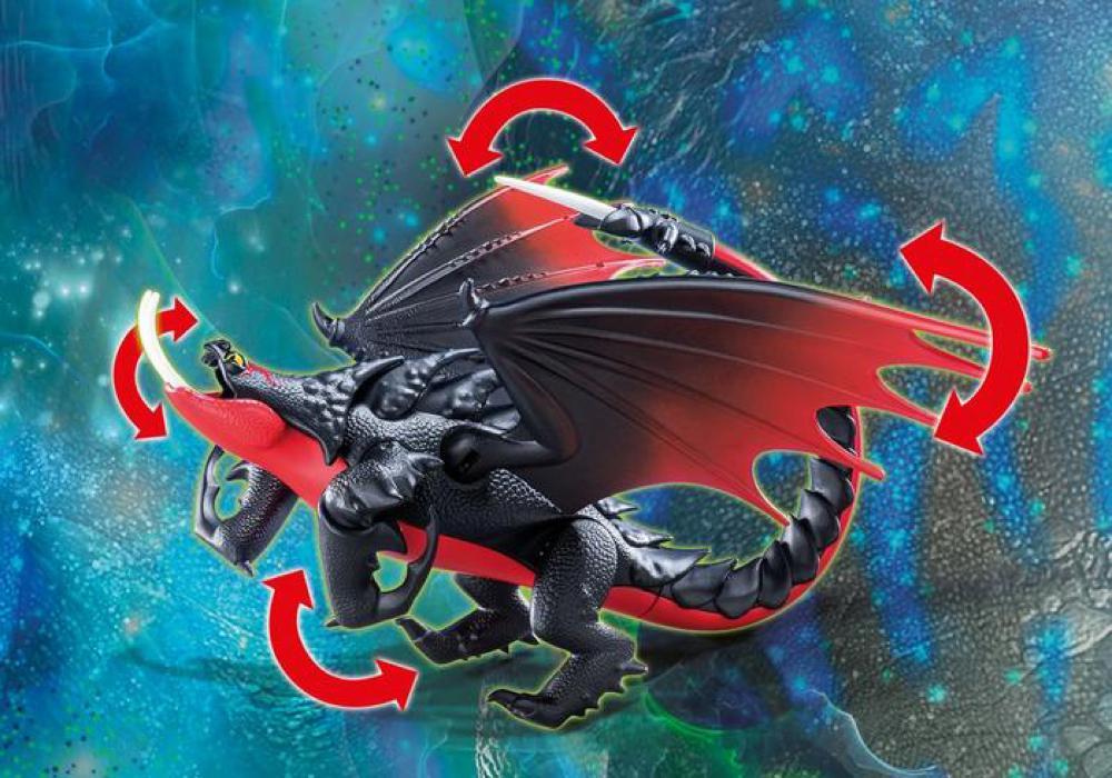 Dragons - Aggrippemort et Grimmel