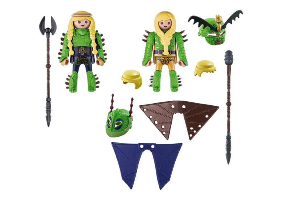 Dragons - Kranedur et Kognedur en combinaison de vol