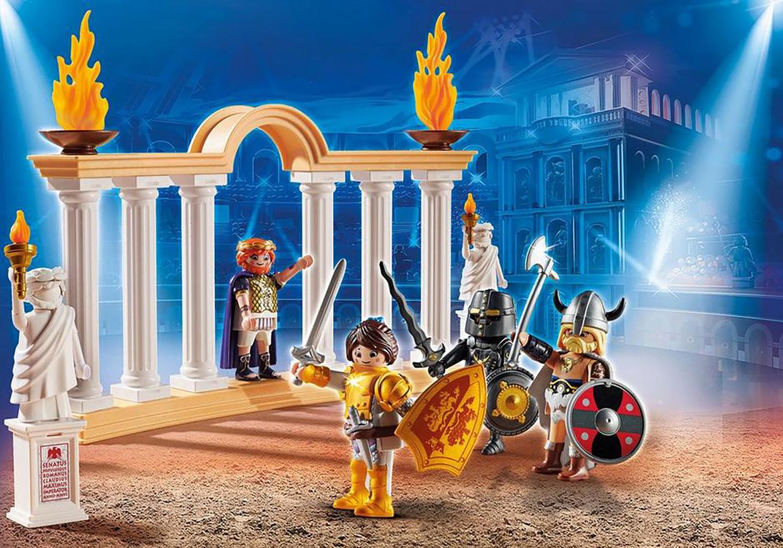 Playmobil The Movie Empereur Maximus et Colisée