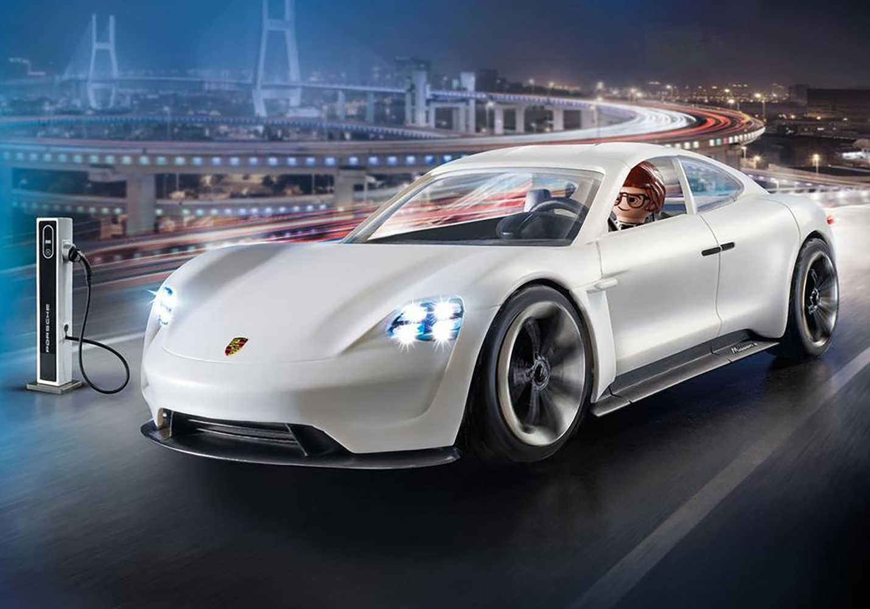 Playmobil The Movie Rex Dasher et Porsche Mission E