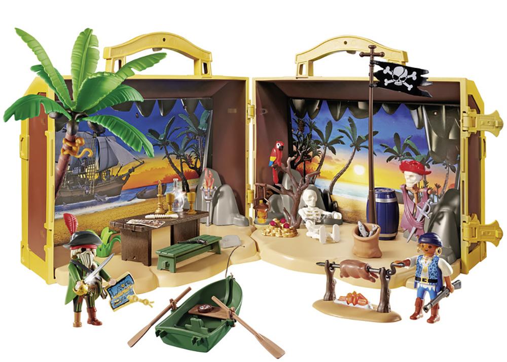 Pirates - Coffre des pirates transportable