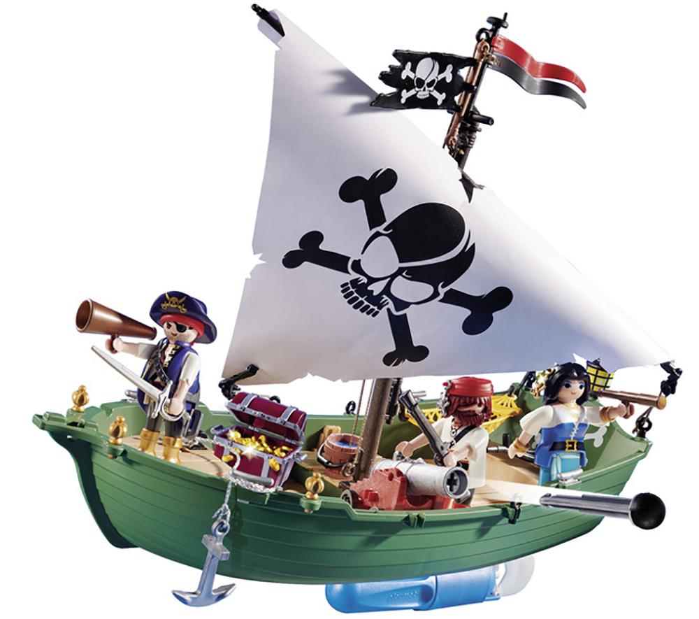 Pirates - Chaloupe des pirates avec moteur submersible