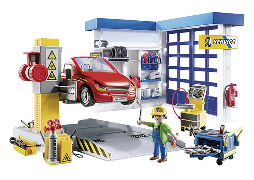 City Life - Garage automobile