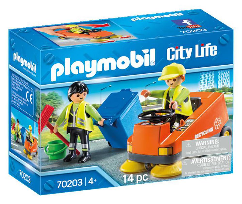 City Life - Agents d'entretien de la voierie