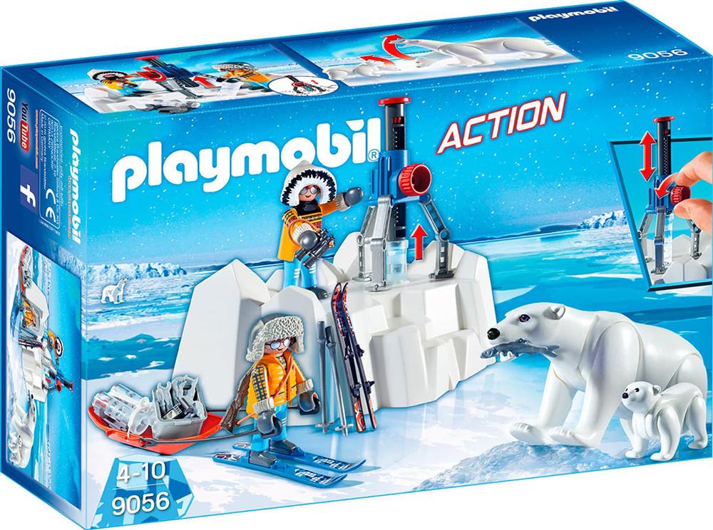 Action - Explorateurs avec ours polaires