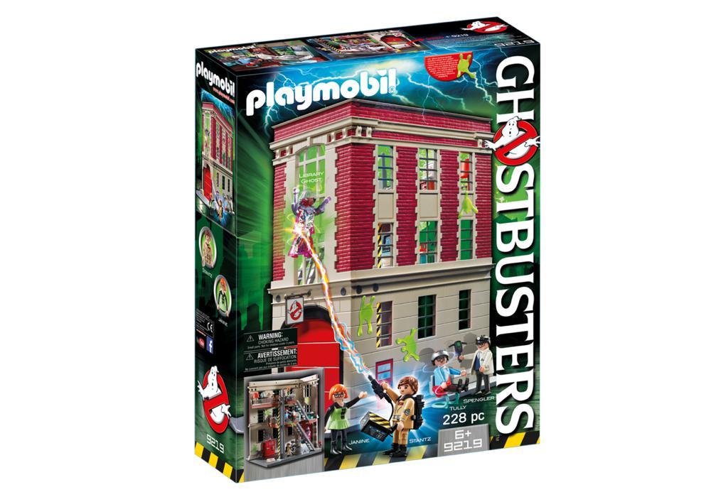 Quartier général Ghostbusters