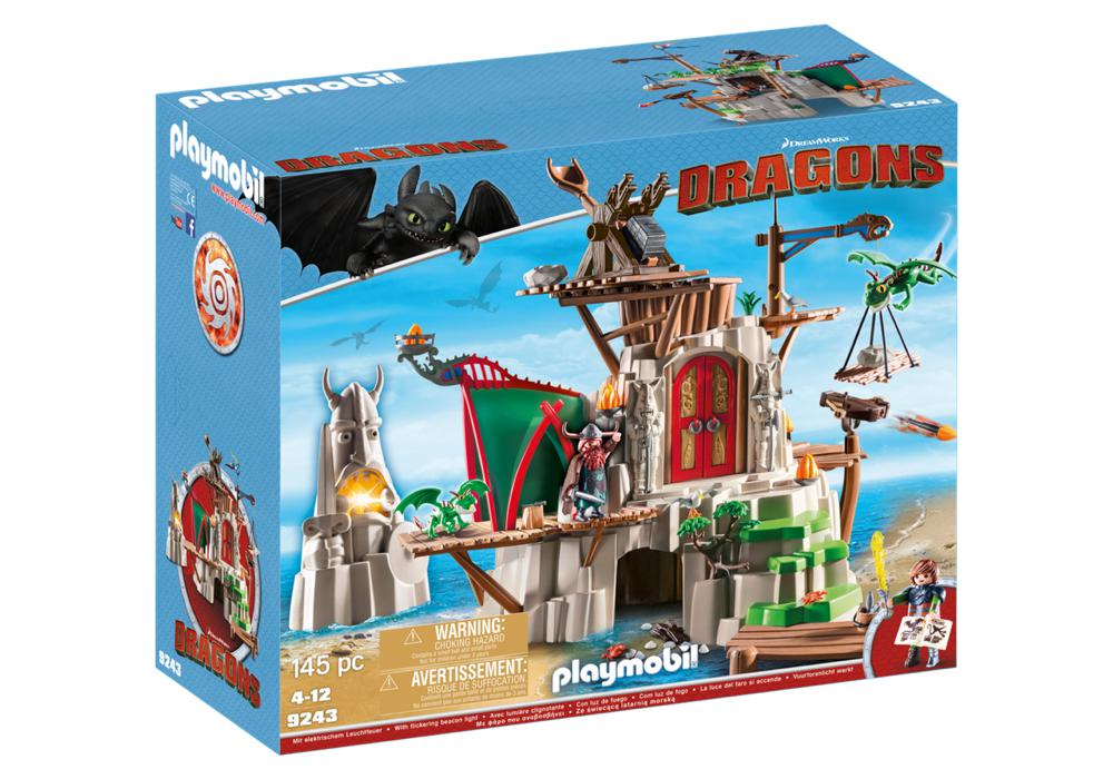 Dragons - Campement de l'île de Beurk