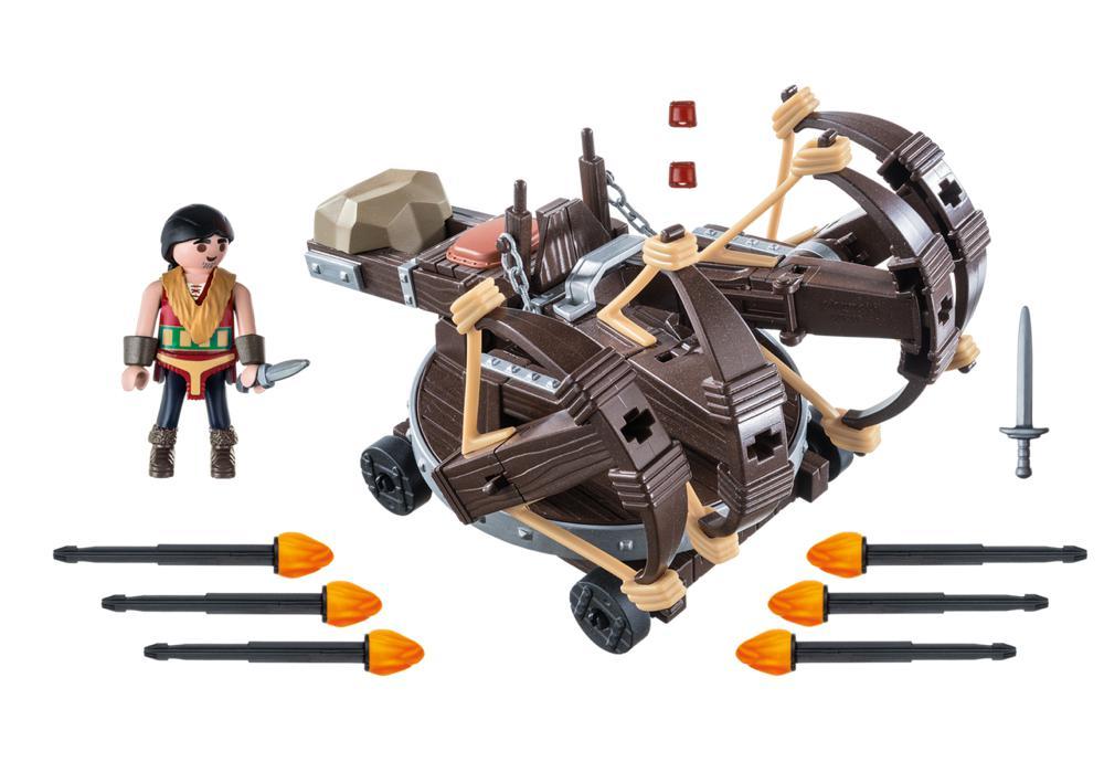 Dragons - Eret et baliste à projectiles de feu