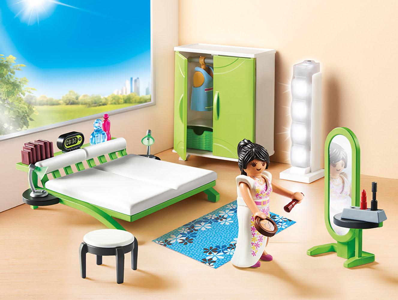 City Life - Chambre avec espace maquillage