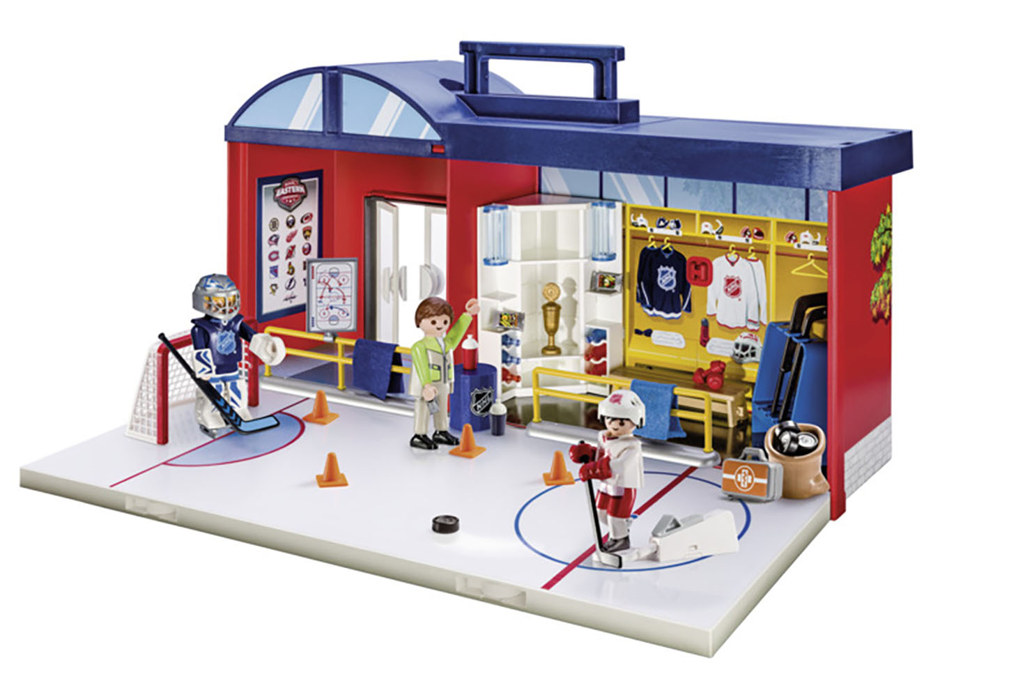 LNH - Aréna de hockey transportable