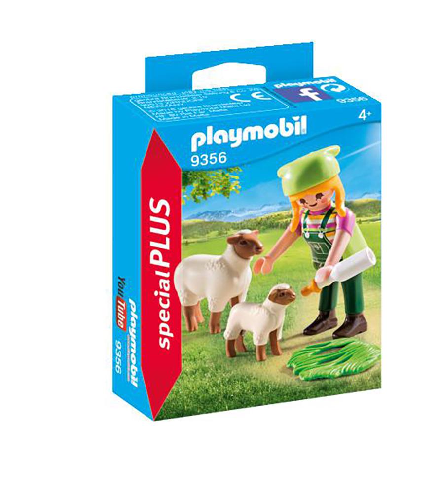 SpecialPlus - Fermière avec mouton