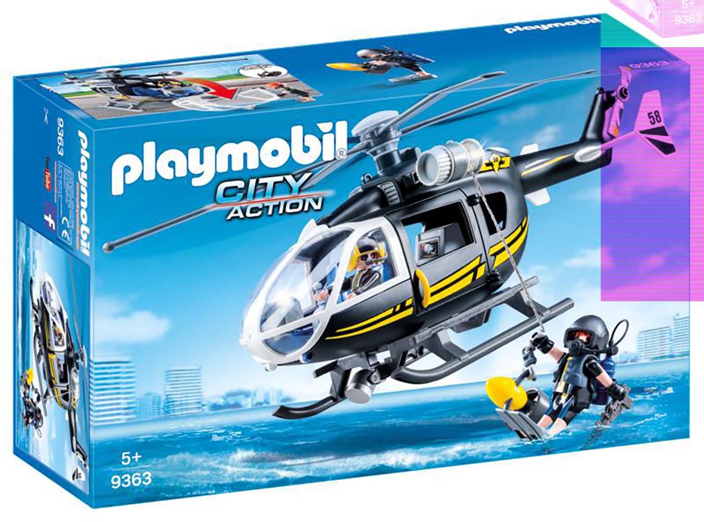 City Action - Hélicoptère et policiers d'élite