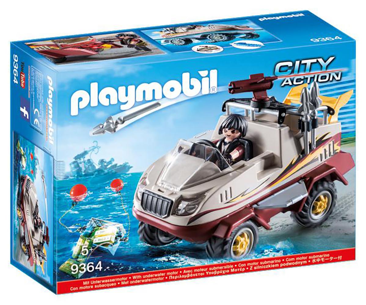 City Action - Véhicule amphibien et bandit